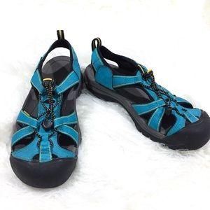 Keen Aqua Blue Water Sandals 9.5